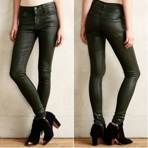 Citizens of Humanity Rocket High Rise Coated Jeans